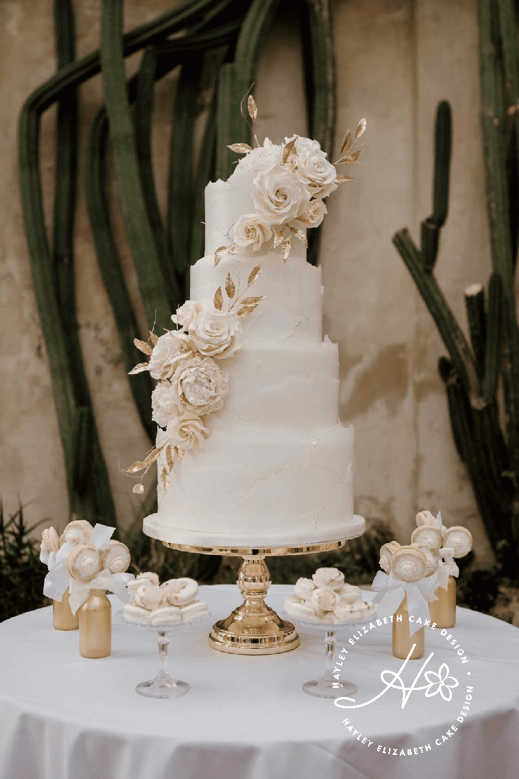 Luxury wedding cakes & dessert tables in Dorset & Hampshire